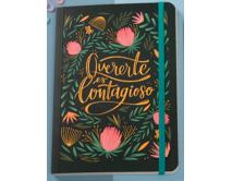 Cuaderno cosido ''Quererte es contagioso'' FERA